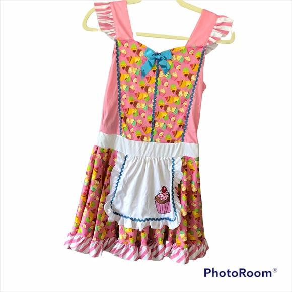 Cupcake Costume Dress Juniors S/M